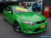 2010 Ford Falcon FG XR6 Green Automatic 5sp A Sedan for Sale