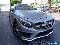 2015 Mercedes-Benz S-Class 2-door coupe 4Matic for Sale