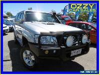 2011 Nissan Patrol GU VII ST (4x4) Silver Manual 5sp M Wagon for Sale