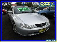 2003 Holden Commodore VY Acclaim Silver Automatic 4sp A Sedan for Sale