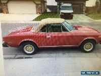 Fiat: Other 124 PININFARINA FIAT SPYDER 2000 for Sale