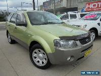 2004 Ford Territory SX TX Green Automatic 4sp A Wagon for Sale