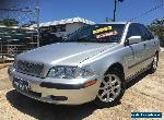 2001 Volvo S40 MY01 T4 SE Silver Frost Automatic 5sp A Sedan for Sale