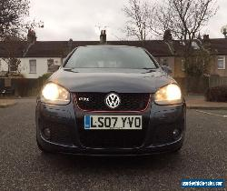 2007 VOLKSWAGEN VW GOLF GTI  6 SPEED MANUAL 2.0 PETROL IN BLUE!!! 3 DOOR!!! for Sale