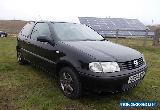 2001 VOLKSWAGEN POLO E 1.4 PETROL AUTOMATIC BLACK 3 DOOR HATCHBACK  for Sale