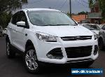 2014 Ford Kuga TF Ambiente (AWD) White Automatic 6sp A Wagon for Sale