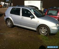 1999 VOLKSWAGEN GOLF V5 SILVER - Spares or Repair for Sale