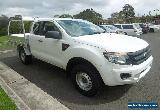 2012 Ford Ranger PX XL Super Cab 4x2 White Automatic 6sp A for Sale