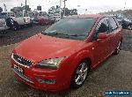 2006 Ford Focus LS Zetec Red Automatic 4sp A Hatchback for Sale