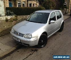 VOLKSWAGEN GOLF V5 2.3i 170BHP IMMACULATE SILVER MANUAL - Full Black Leather for Sale