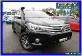 2016 Toyota Hilux GUN126R SR5 (4x4) Black Automatic 6sp A Dual Cab Utility for Sale