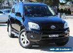 2007 Toyota RAV4 ACA33R Cruiser (4x4) Black Automatic 4sp A Wagon for Sale