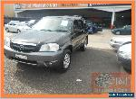 2001 Mazda Tribute Luxury Black Automatic 4sp A Wagon for Sale