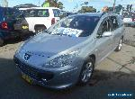 2005 Peugeot 307 MY06 Upgrade XSE HDI 2.0 Touring Silver Manual 6sp M Wagon for Sale