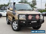 2009 Toyota Landcruiser VDJ200R 09 Upgrade Sahara (4x4) Gold Automatic 6sp A for Sale