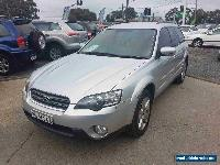 2003 Subaru Outback MY03 H6 Silver Automatic 4sp A Wagon for Sale