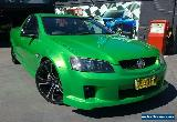 2008 Holden Commodore VE SV6 Green Manual 6sp M Utility for Sale