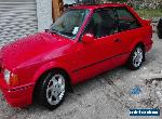 1990 FORD ESCORT XR3i IN RED for Sale