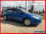 2013 Ford Focus LW MKII Ambiente Hatchback 5dr PwrShift 6sp, 1.6i Blue A for Sale