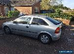2000 VAUXHALL ASTRA 1199 SILVER 3 DR for Sale