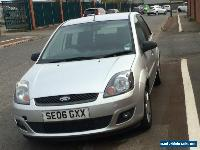 2006 FORD FIESTA ZETEC CLIMATE TDCI SILVER for Sale
