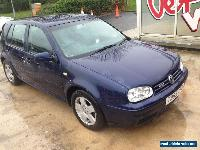 1999 VOLKSWAGEN MK4 GOLF GTI 2.0 8v (115 BHP) BLUE SPARES OR REPAIR for Sale