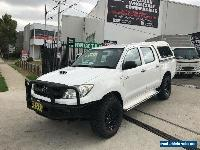 2009 Toyota Hilux KUN26R 08 Upgrade SR (4x4) White Manual 5sp M for Sale