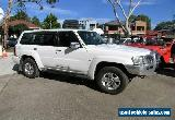 2008 Nissan Patrol GU VI ST (4x4) White Automatic 4sp A Wagon for Sale