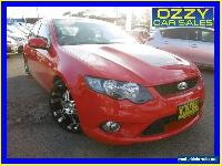 2009 Ford Falcon FG XR8 Red Automatic 6sp A Sedan for Sale