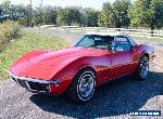 1968 Chevrolet Corvette C3 MY1968 Stingray Red Convertible for Sale