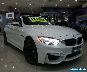 2015 BMW M4 F83 LCI White Automatic 7sp A Convertible for Sale