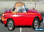 MG: MGB for Sale