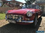 1965 MG B   Mk 1 Roadster 2dr Man 4sp 1800  for Sale