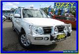 2014 Mitsubishi Pajero NW MY14 GLX-R LWB (4x4) White Automatic 5sp A Wagon for Sale