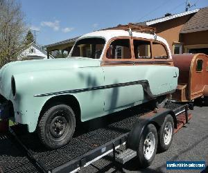 1954 Pontiac Chieftain Station Wagon
