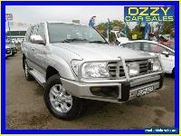 2006 Toyota Landcruiser HDJ100R Upgrade II GXL (4x4) Silver Automatic 5sp A for Sale