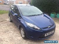 Ford Fiesta Style 2009 1.4 TDCI Diesel Blue 5 Door 59 for Sale