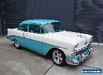 1956 CHEVROLET BEL AIR, ZZ4 CRATE ENG 700R, A/C FULL RESTO - Camaro Mustang 1957 for Sale
