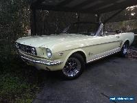FORD MUSTANG 1966 convertible for Sale