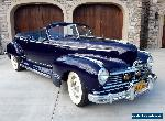 1947 Hudson Super Six Brougham Convertible for Sale