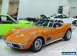 1971 Chevrolet Corvette Stingray Oriental Orange Manual 4sp M Roadster for Sale