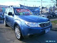 2008 Subaru Forester MY08 X Blue Manual 5sp M Wagon for Sale