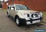 2009 Nissan Navara D40 ST (4x4) Gold Manual 6sp M Dual Cab Pick-up for Sale