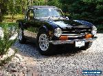 Triumph: TR-6 for Sale