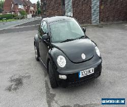 LOW mileage black New beetle 2.0 - no minimum BARGAIN for Sale