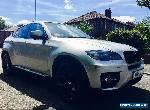 2010 BMW X6 3.0 30D XDRIVE SILVER for Sale