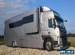 Volvo FM Motorhome Car Transporter with Tail Lift, Slide Out Living Garage @ 5M for Sale