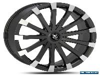 "Alloy Wheels Black Mercedes Sprinter VW Crafter Silver 20"" Wolf Race Motorhome for Sale"