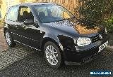 2002 VOLKSWAGEN GOLF GT TDI BLACK 12 MONTHS MOT PD150 150BHP 1.9TDI  for Sale