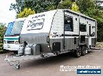 2017 Franklin X Factor 216-RDCAFW Silver Caravan for Sale